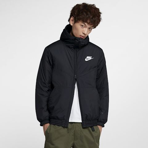 online store db015 caf90 Nike Sportswear Synthetic Fill Men s Hooded Jacket - Black Image
