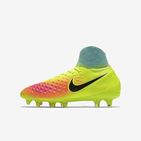 newest 74cd5 1e051 Nike Magista Obra II FG Volt Black Total Orange Pink Blast  HyperTurquoise