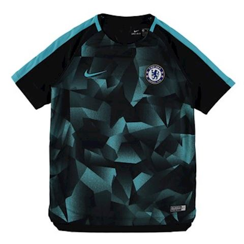 promo code 388f9 c2af9 Nike Chelsea FC Squad Older Kids'Short-Sleeve Football Top - Black