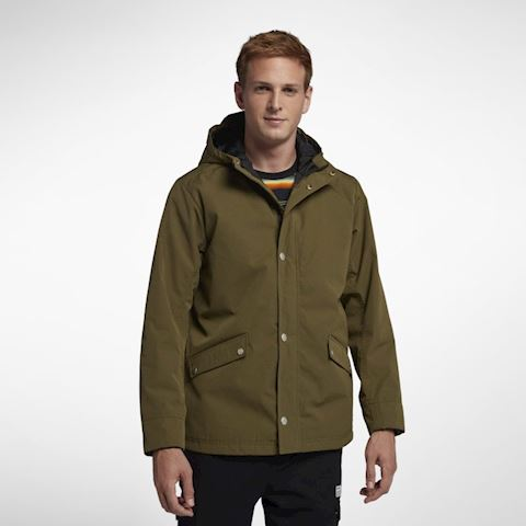 Nike Hurley Timber Men's Hooded Jacket - Olive