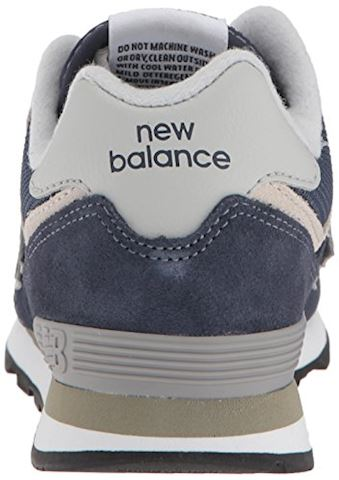 New Balance  574  girls's Shoes (Trainers) in Blue Image 2