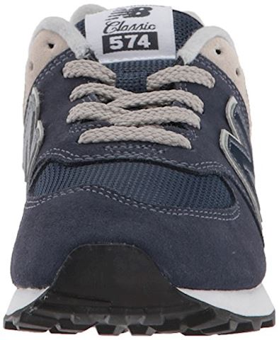 New Balance  574  girls's Shoes (Trainers) in Blue Image 4