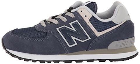 New Balance  574  girls's Shoes (Trainers) in Blue Image 5