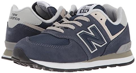 New Balance  574  girls's Shoes (Trainers) in Blue Image 6