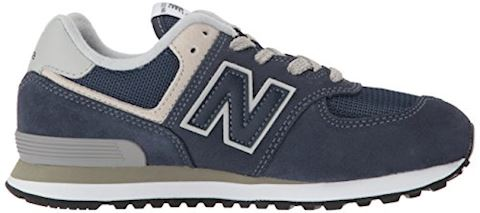 New Balance  574  girls's Shoes (Trainers) in Blue Image 7