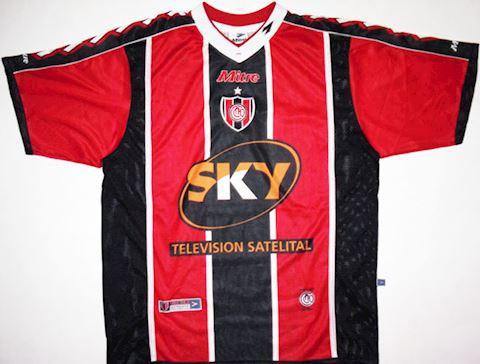 Mitre San Martin Mens SS Home Shirt 2001/02 Image
