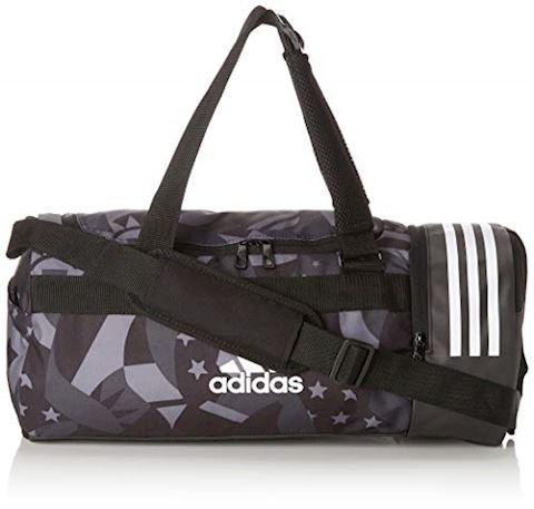 adidas 3-Stripes Convertible Graphic Duffel Bag Small Image
