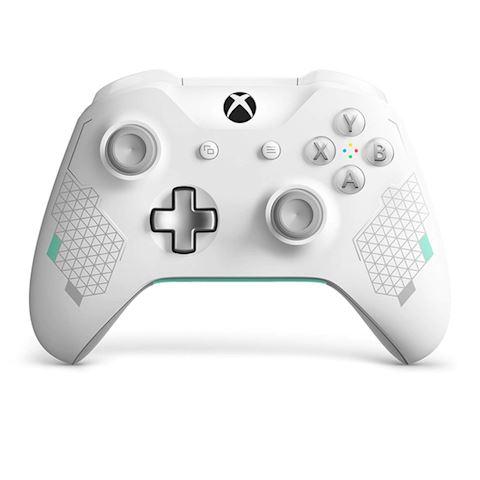 Xbox One Sports Tech Wireless Controller - White Image