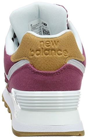 New Balance  WL574  women's Shoes (Trainers) in Pink Image 2