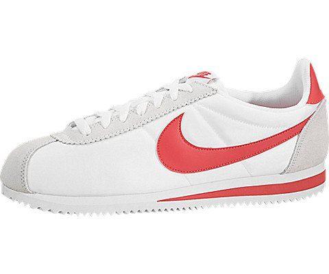 Nike Classic Cortez Nylon Unisex Shoe - White Image