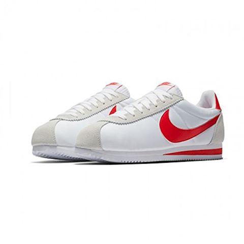 Nike Classic Cortez Nylon Unisex Shoe - White Image 11