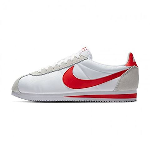 Nike Classic Cortez Nylon Unisex Shoe - White Image 12