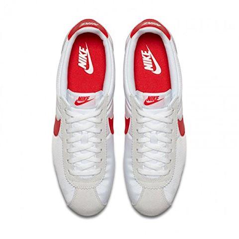 Nike Classic Cortez Nylon Unisex Shoe - White Image 13