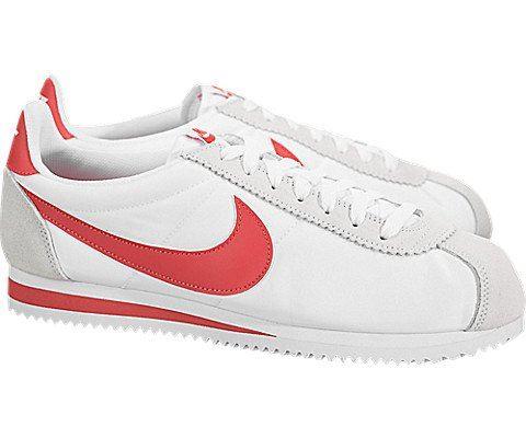 Nike Classic Cortez Nylon Unisex Shoe - White Image 2