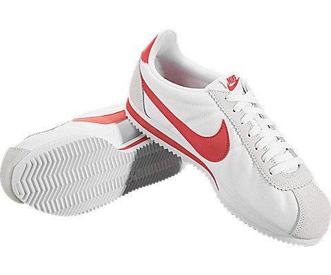 Nike Classic Cortez Nylon Unisex Shoe - White Image 3