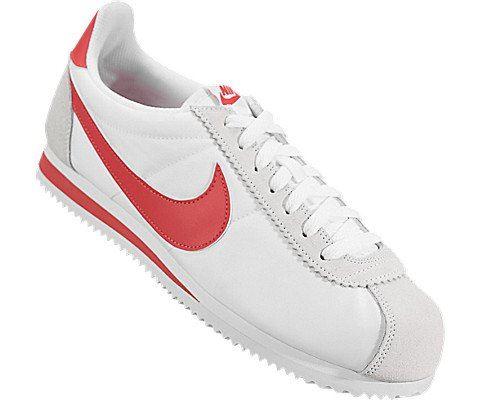 Nike Classic Cortez Nylon Unisex Shoe - White Image 5