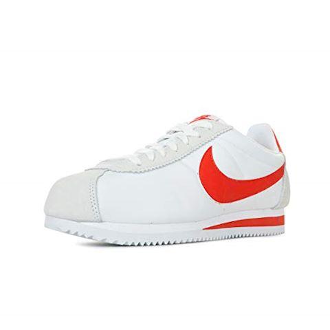 Nike Classic Cortez Nylon Unisex Shoe - White Image 6