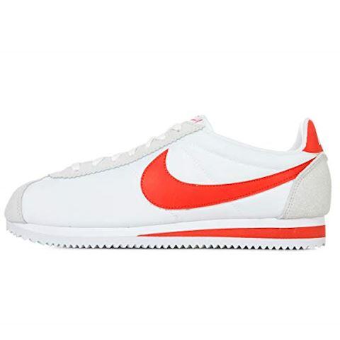 Nike Classic Cortez Nylon Unisex Shoe - White Image 7
