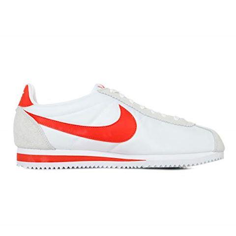 Nike Classic Cortez Nylon Unisex Shoe - White Image 9