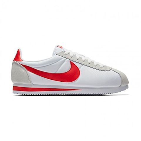 Nike Classic Cortez Nylon Unisex Shoe - White Image 10