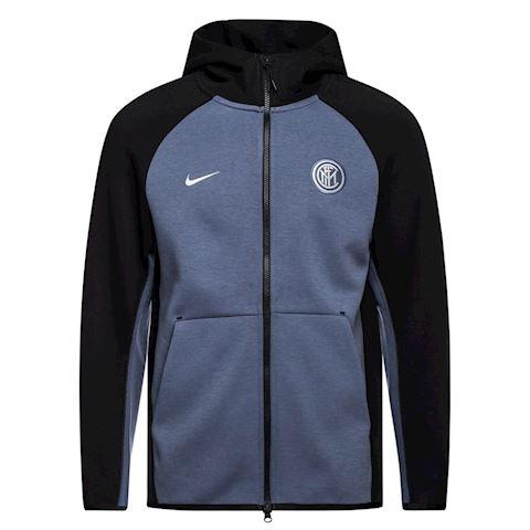 Nike Inter Milan Tech Fleece Men's Full-Zip Hoodie - Black