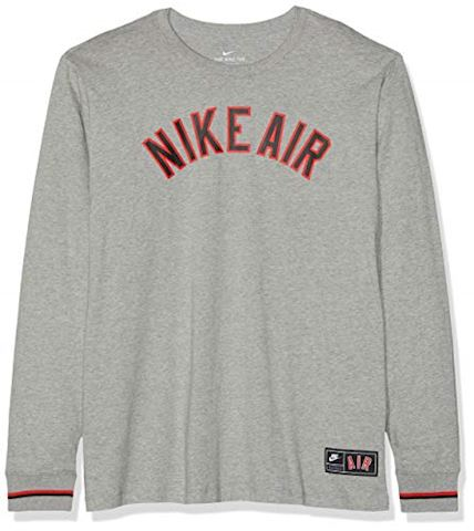 new arrival get cheap sneakers Nike Air Men's Long-Sleeve T-Shirt - Grey