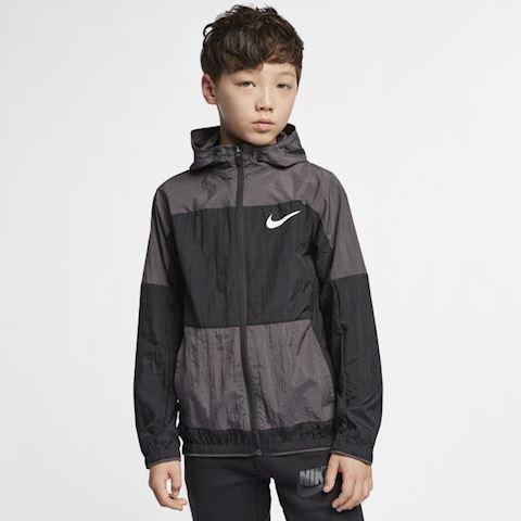 Nike Dri-FIT Older Kids' (Boys') Woven Training Jacket - Black Image