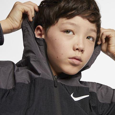 Nike Dri-FIT Older Kids' (Boys') Woven Training Jacket - Black Image 3
