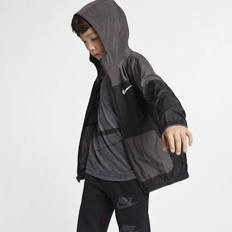 Nike Dri-FIT Older Kids' (Boys') Woven Training Jacket - Black Image 4