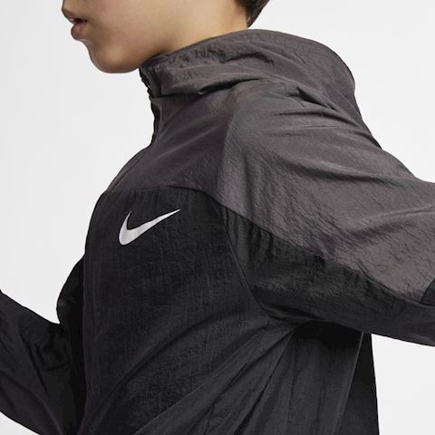 Nike Dri-FIT Older Kids' (Boys') Woven Training Jacket - Black Image 5