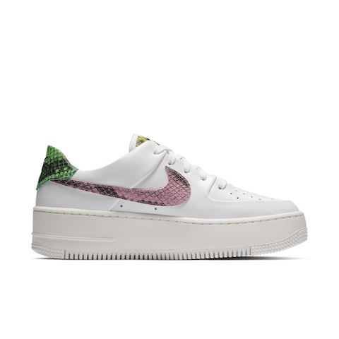 check out 9bb24 8e894 Nike Air Force 1 Sage Low Premium Animal Women s Shoe - White Image 3