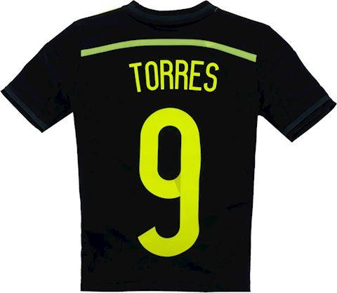 adidas Spain Kids SS Away Shirt 2013 Image 2