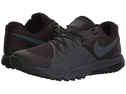 Nike Air Zoom Wildhorse 4 Men's Running Shoe - Black Image 7