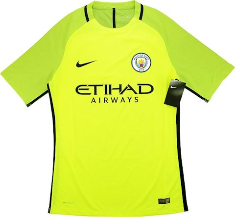 Nike Manchester City Mens SS Goalkeeper Player Issue Home Shirt 2016/17 Image