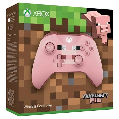 Xbox One Minecraft Pig Controller - Pink Image
