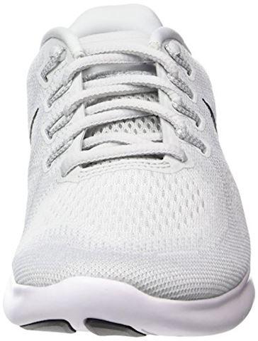 Nike Free RN 2017 - White/Black/Pure Platinum Women Image 4