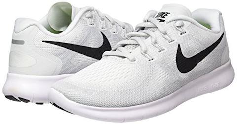 Nike Free RN 2017 - White/Black/Pure Platinum Women Image 5