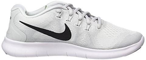 Nike Free RN 2017 - White/Black/Pure Platinum Women Image 6