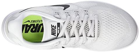 Nike Free RN 2017 - White/Black/Pure Platinum Women Image 7