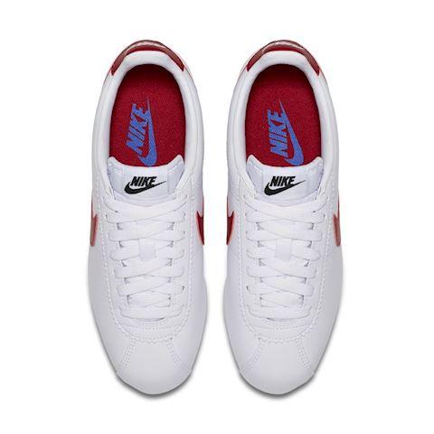 Nike Classic Cortez Women's Shoe - White Image 4