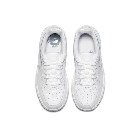 Nike Force 1 Younger Kids' Shoe - White Image 3