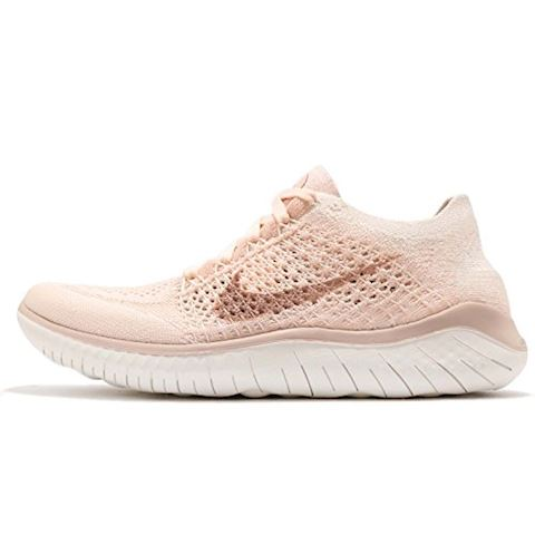 Nike Free RN Flyknit 2018 Women's Running Shoe - Cream Image