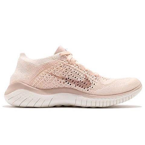 Nike Free RN Flyknit 2018 Women's Running Shoe - Cream Image 2