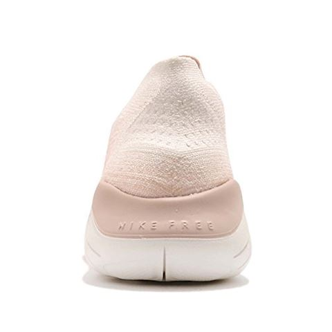 Nike Free RN Flyknit 2018 Women's Running Shoe - Cream Image 3