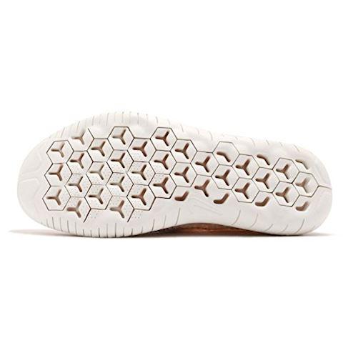 Nike Free RN Flyknit 2018 Women's Running Shoe - Cream Image 4