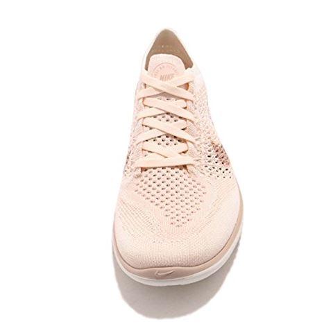 Nike Free RN Flyknit 2018 Women's Running Shoe - Cream Image 5