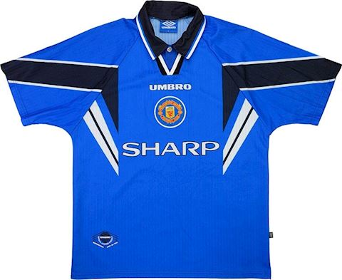 Umbro Manchester United Kids SS Third Shirt 1996/98 Image