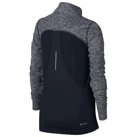 Nike Dri-FIT Element Older Kids'(Girls') Half-Zip Running Top - Black Image 2