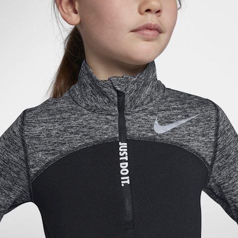 Nike Dri-FIT Older Kids' (Girls') Half-Zip Running Top - Black Image 4
