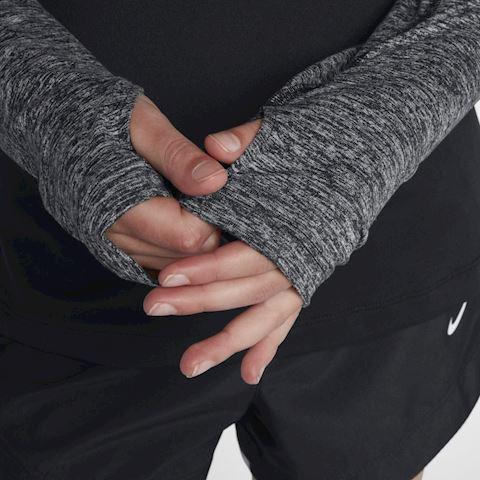 Nike Dri-FIT Older Kids' (Girls') Half-Zip Running Top - Black Image 5